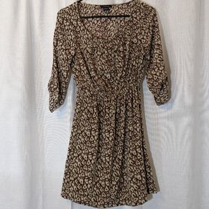 3 For $15 Leopard Print Silky Dress in Size Small